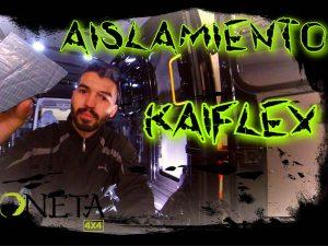 Instalación aislamiento KAIFLEX