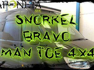 instalación snorkel Bravo